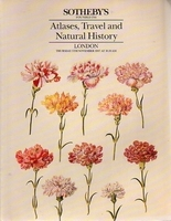 Sotheby's, Atlases, Travel and Nat Hist.[11/87]