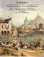 Sotheby's, Atlases, Travel and Topogr. prints[12/89]